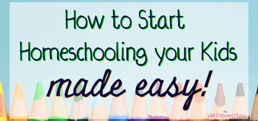 how to start homeschooling your kids made easy with colored pencils background
