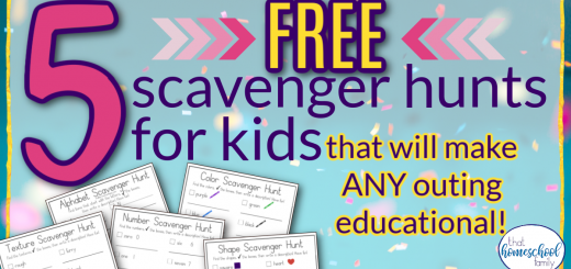 5 free scavenger hunts for kids that will make any outing educational