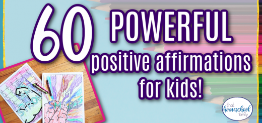 60 POWERFUL positive affirmations for kids