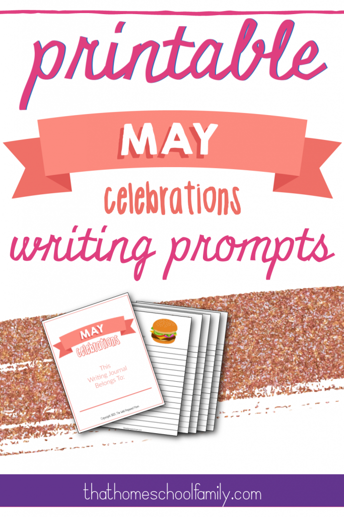 printable may celebrations writing prompts