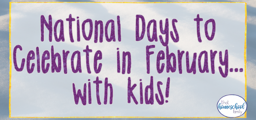 national days to celebrate in february with kids