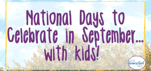 national days to celebrate in september with kids