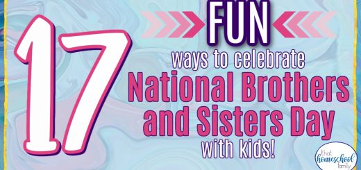 17 Fun ways to celebrate National Brothers and Sisters Day with Kids