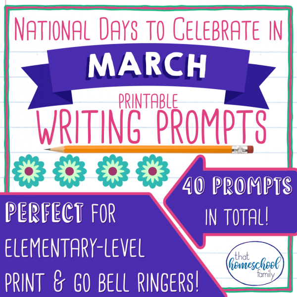 national days to celebrate in march writing prompts