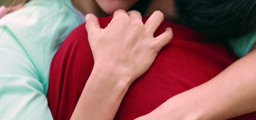 image of a mother embracing her son for the article Homeschooling after a Death in the Family from That Homeschool Family